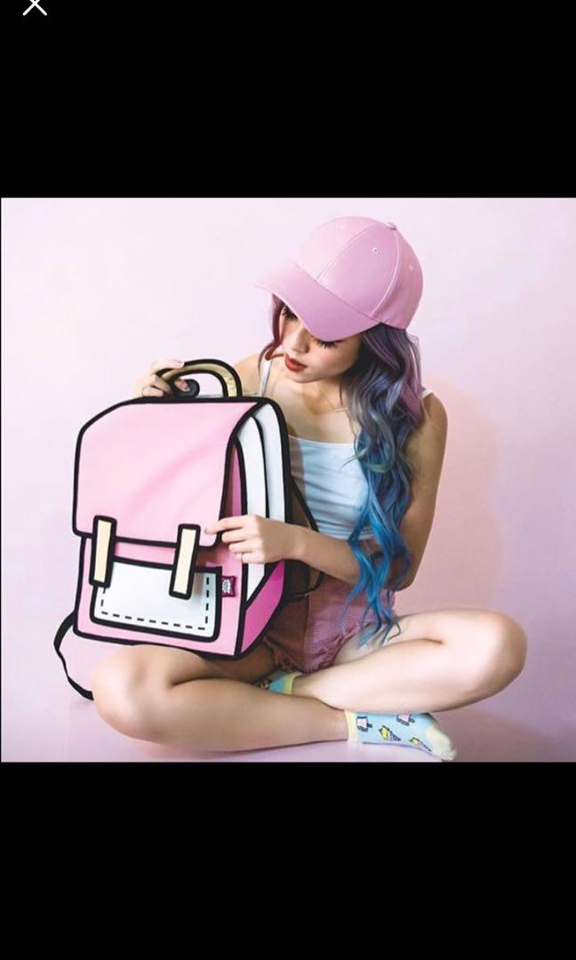 2D Style Backpacks
