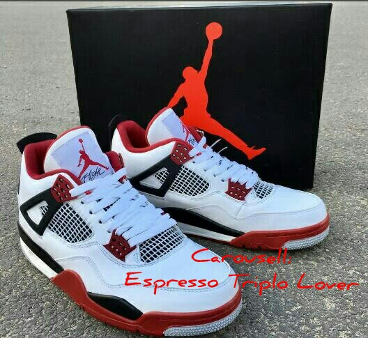 """huge selection of eb190 97957 Air Jordan 4 Retro """"Fire Red"""" 308497-160, Men s Fashion, Clothes on ..."""