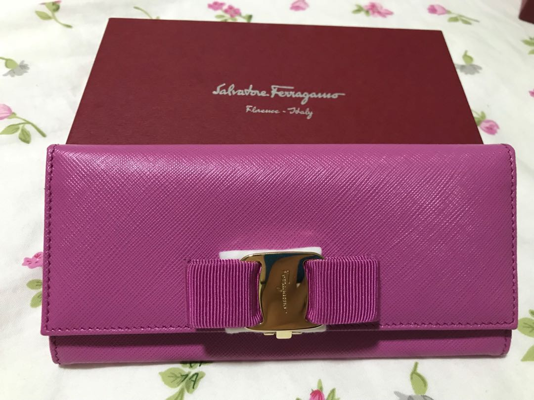 Authentic brand new Salvatore Ferragamo Wallet, Luxury, Bags   Wallets,  Wallets on Carousell 2029360b5e
