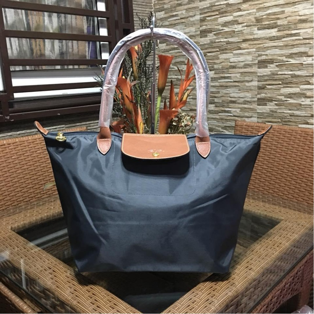 74a68572f958 Authentic Original Longchamp LE Pliage Neo Tote Bag Long Handle ...