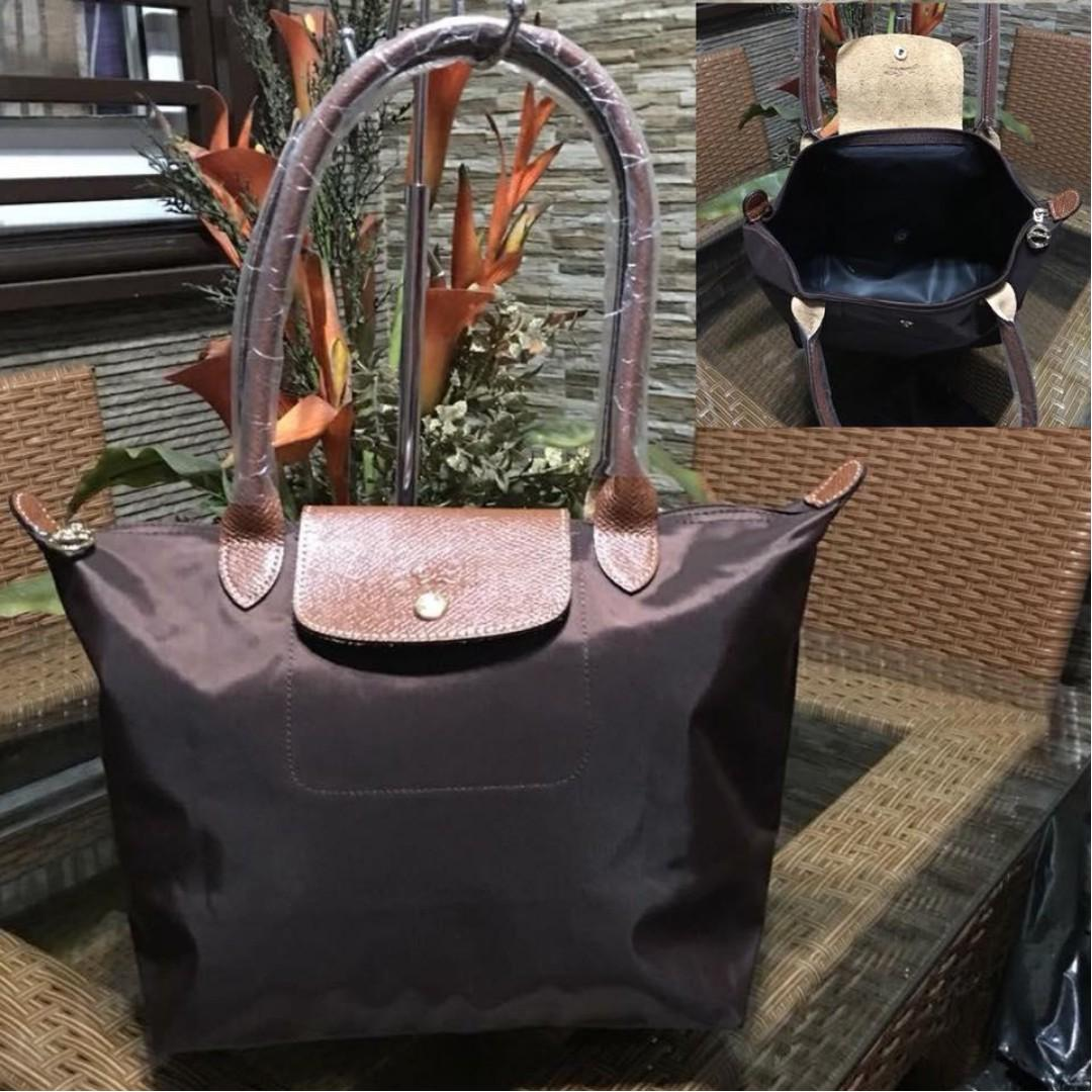9f4c3a580f Authentic Original Longchamp LE Pliage Neo Tote Bag Long Handle Shoulder Bag  FOLDABLE from Vietnam Medium Size Women's Bag BROWN on Carousell