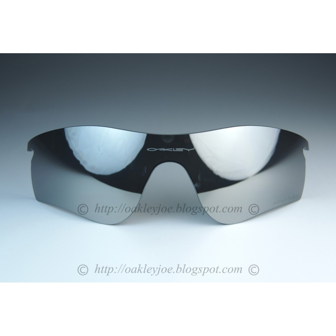 e078d1b8c7267 BNIB Oakley Radarlock Replacement Lens chrome iridium polarized  101-141-018