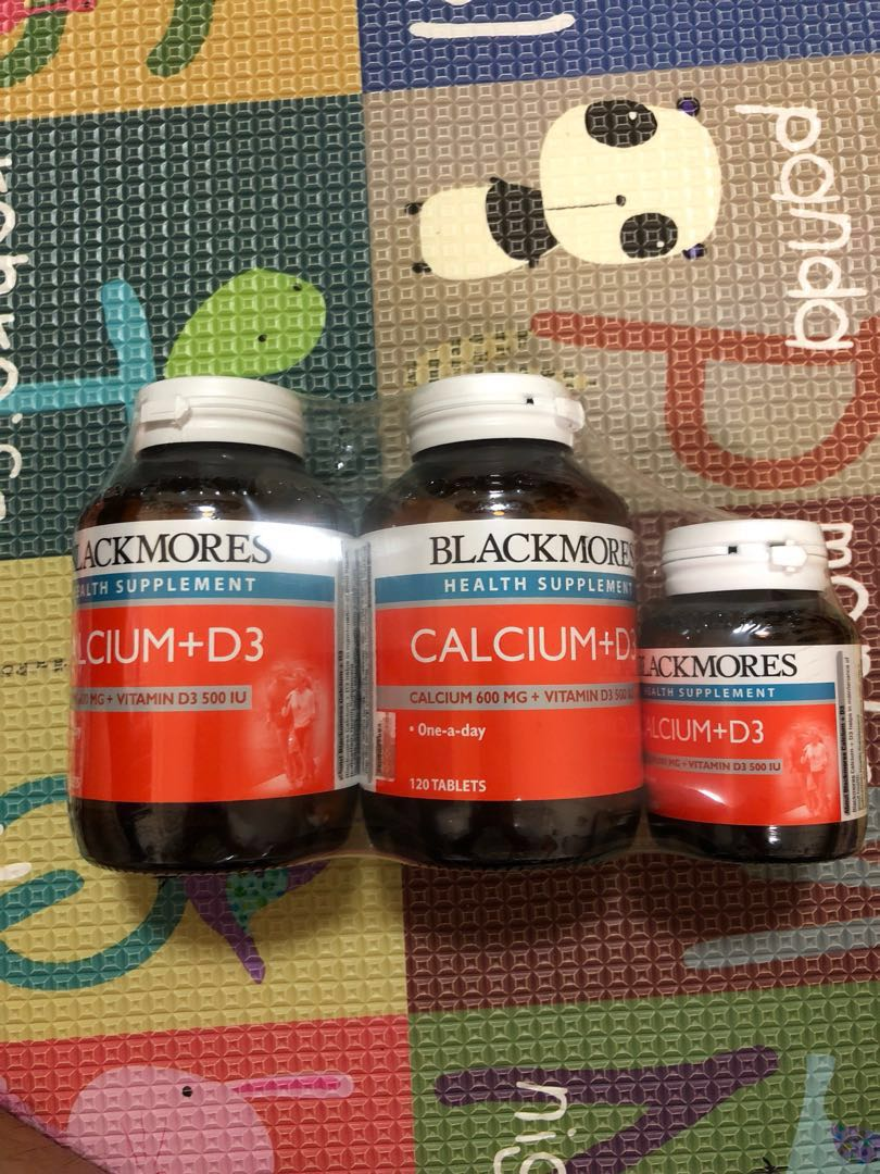 120 Blackmores Calcium 3 T Total Magnesium D3 200 Tablet Citracal 250mg Tablets 60