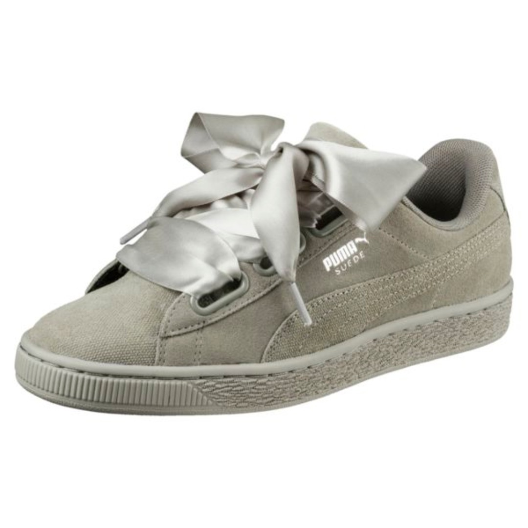 the latest cc809 bc49c BNIB PUMA Suede Heart Pebble Road Ridge 40/6.5/9 25.5cm Women's Trainers  Sneakers Trainers Shoes