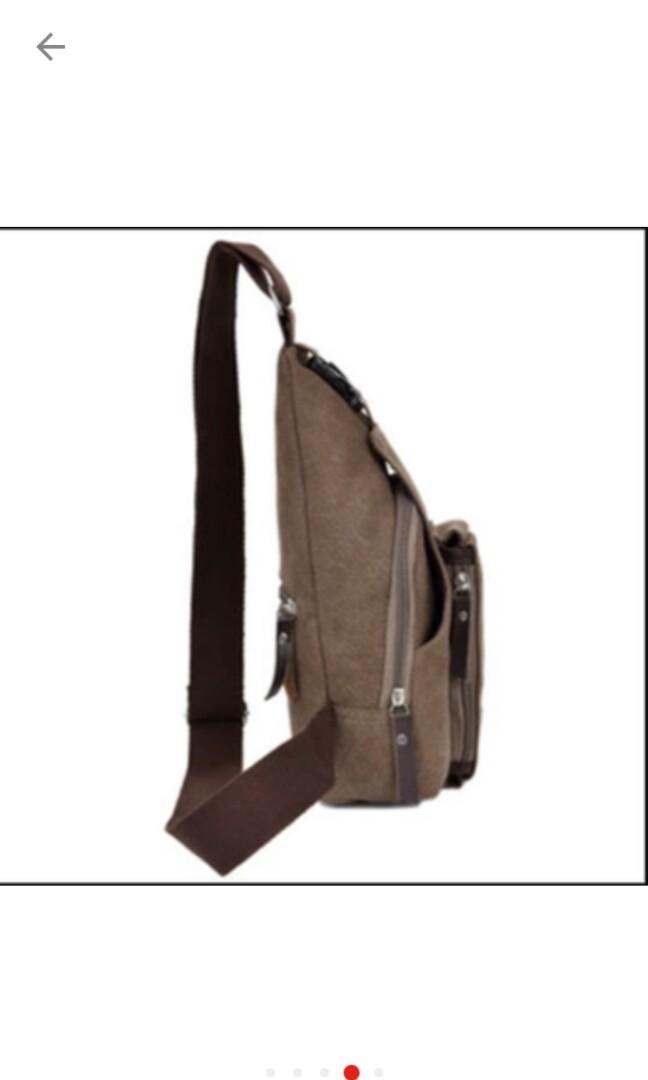 Bodypack Bag Tas Selempang Pria / Men Sling Shoulder Bags., Olshop Fashion, Olshop Pria on Carousell