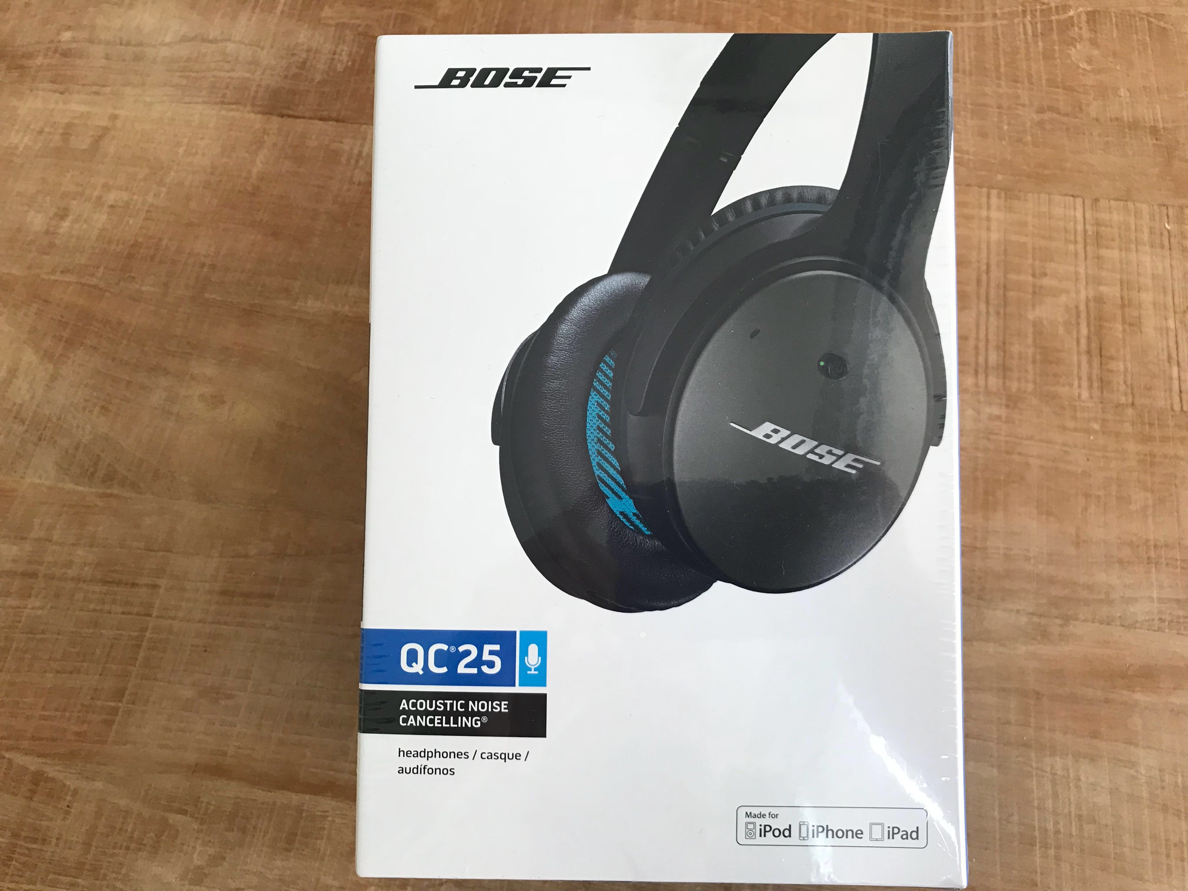 e09240e179b Bose QC25 for Apple and iOS, Electronics, Audio on Carousell