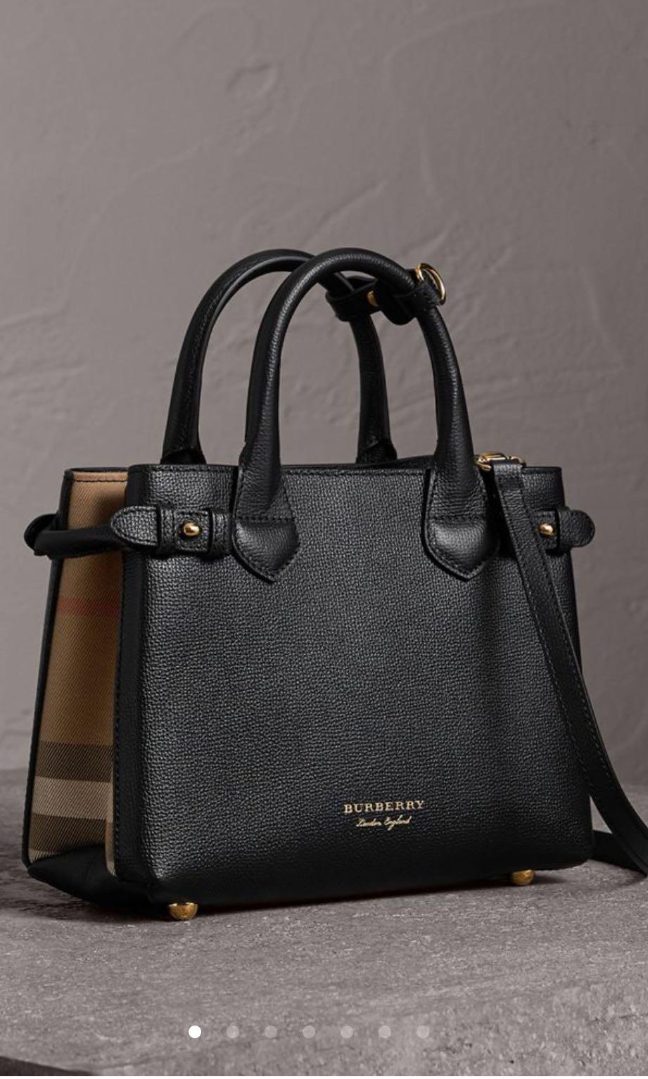 21c35b402155 Burberry banner mini, Luxury, Bags & Wallets, Handbags on Carousell