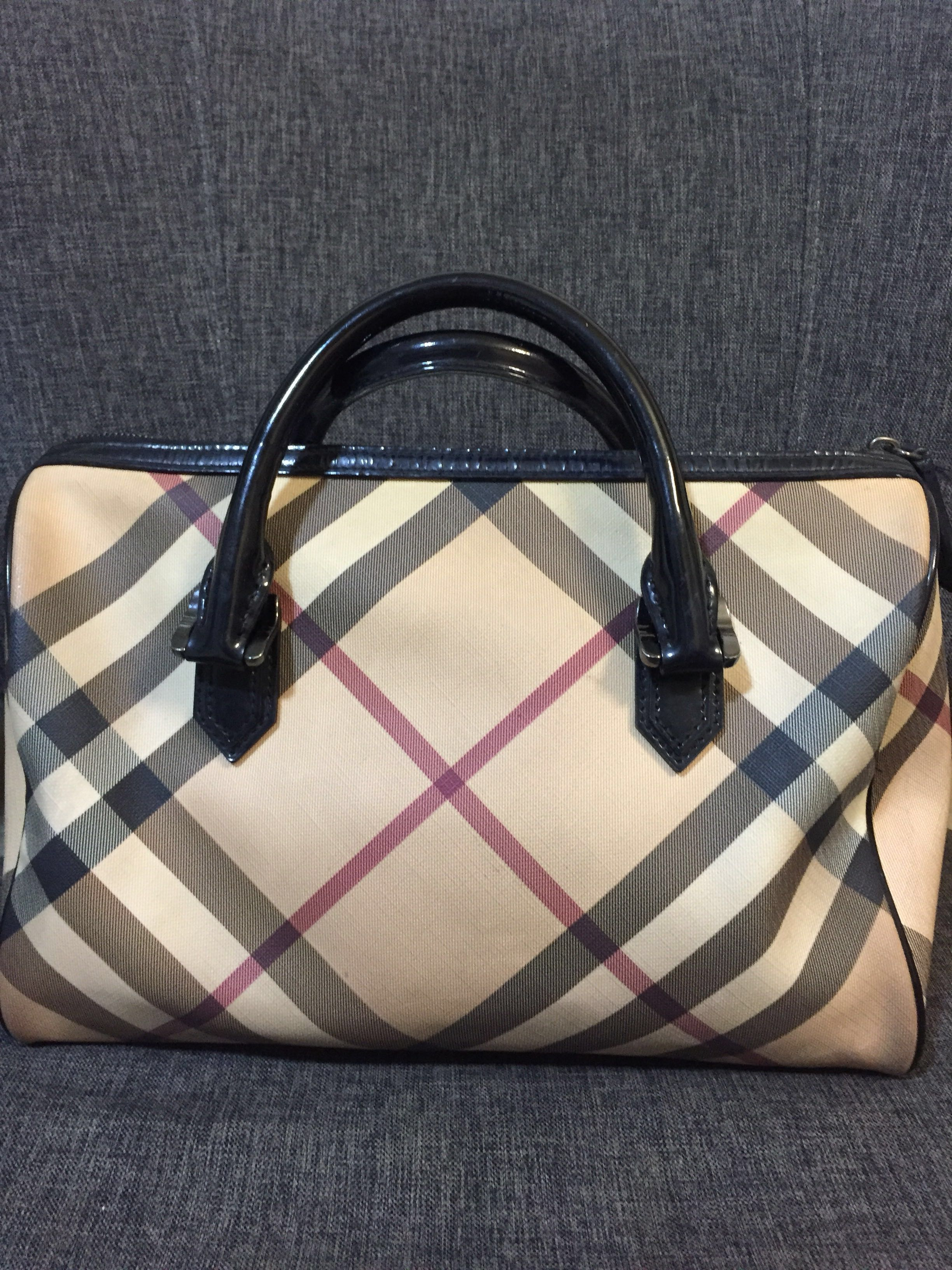 5d813dd44957 Burberry Supernova Bowling Bag (Preloved)