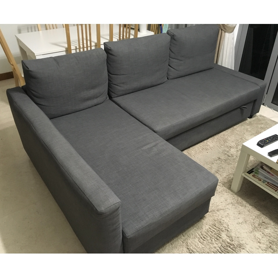 Corner Sofa Bed With Storage Furniture Sofas On Carousell