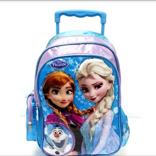 025a7d2019 Disney Frozen School Trolley Bag