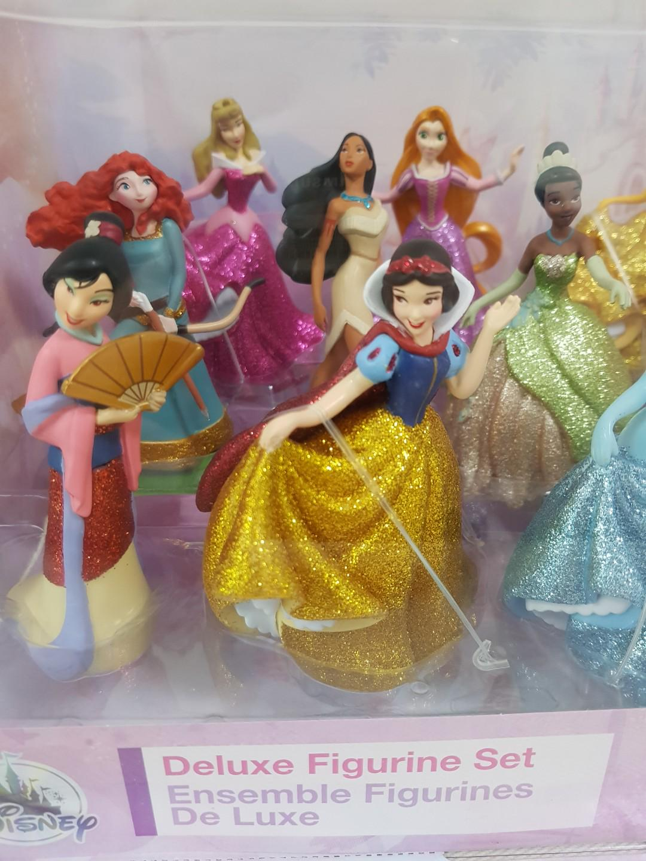Disney Princess Deluxe Figurine Set