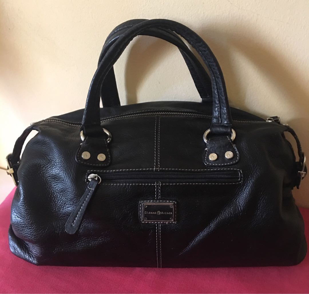 b0b47647e Etienne Aigner Leather Handbag, Women's Fashion, Bags & Wallets, Handbags  on Carousell