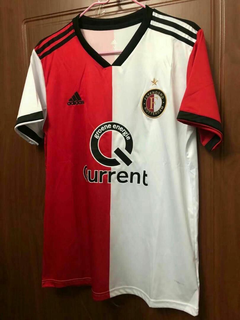 Feyenoord 18-19 Home Short Sleeve Kit 2a81bd5e0