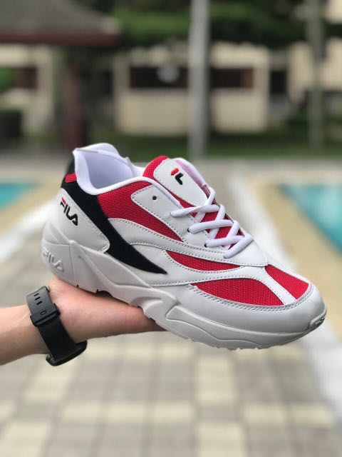 FILA VENOM 94 RED BLACK