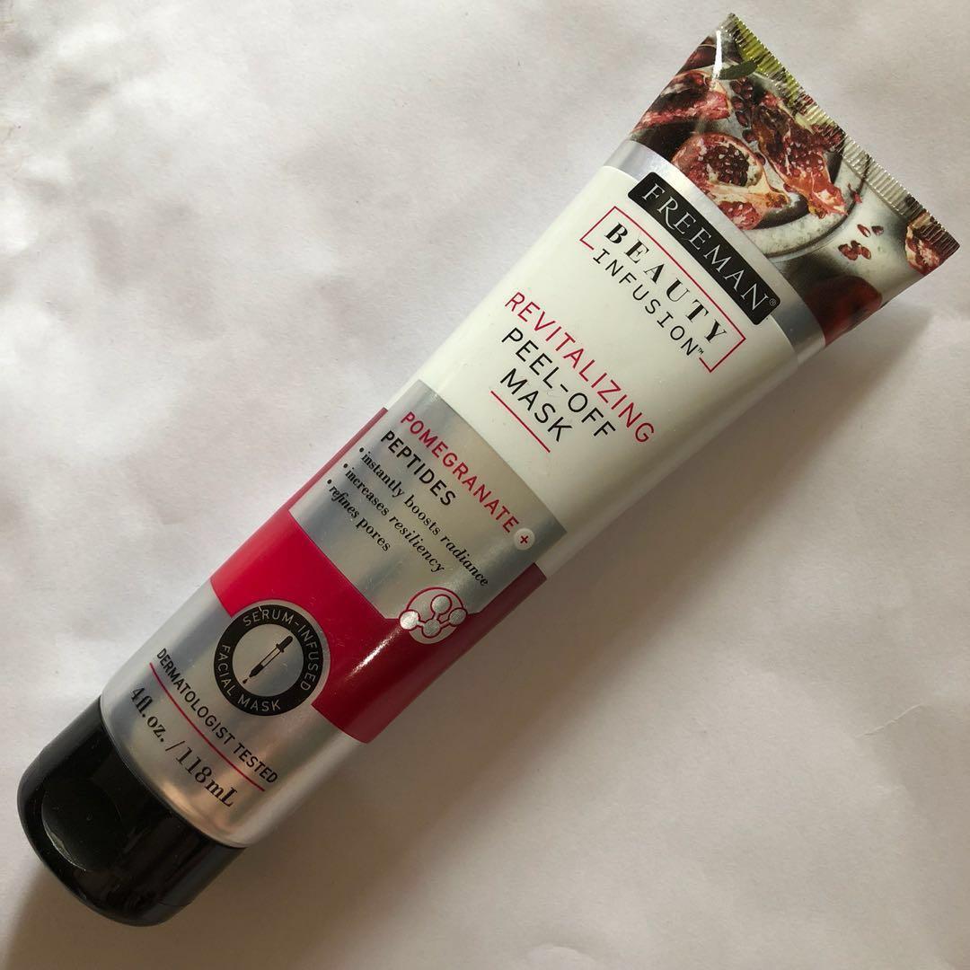 Freeman Beauty Infusion Revitalizing Peel Off Mask Pomegranate Masker Wajah Original Po Photo