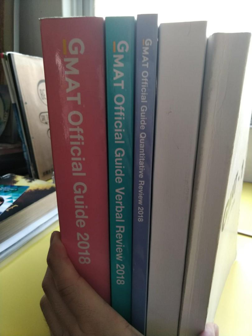 GMAT official guide book