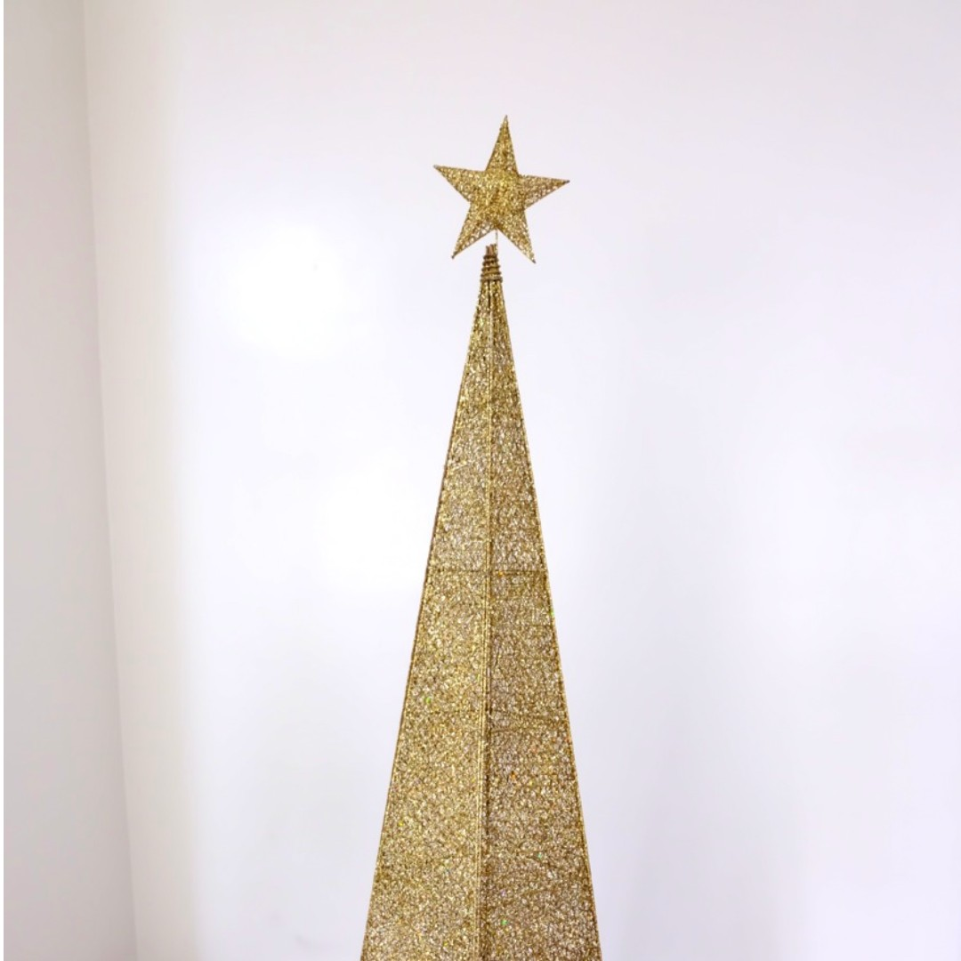6 Feet Gold Christmas Tree