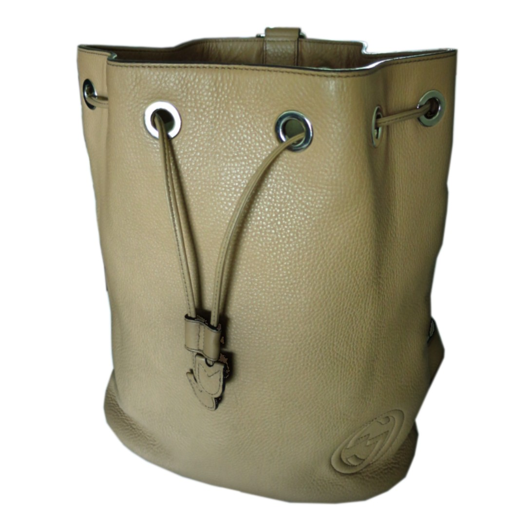 7bd27e8983b Gucci Soho Drawstring Backpack