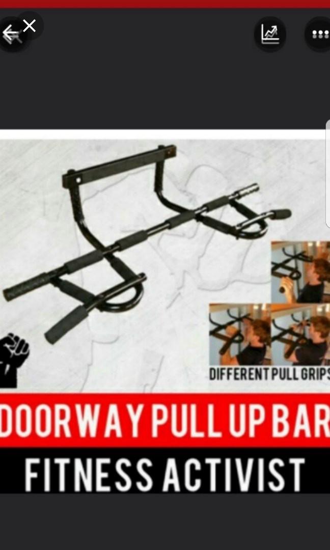Doorway Pull Up Chin Up Bar Similar To Beachbody No Drilling Promotion