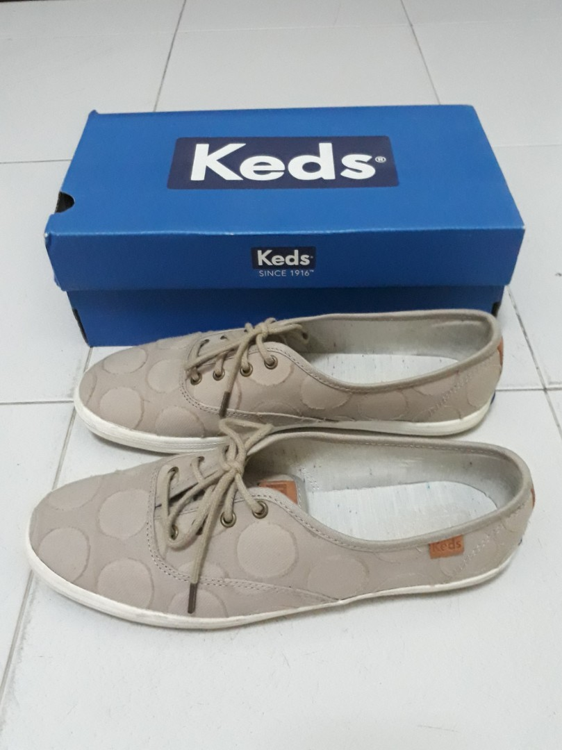 ecbe626972fc7 Keds champion circle jacquard khaki sneakers womens fashion shoes sneakers  on carousell jpg 809x1080 Keds circle