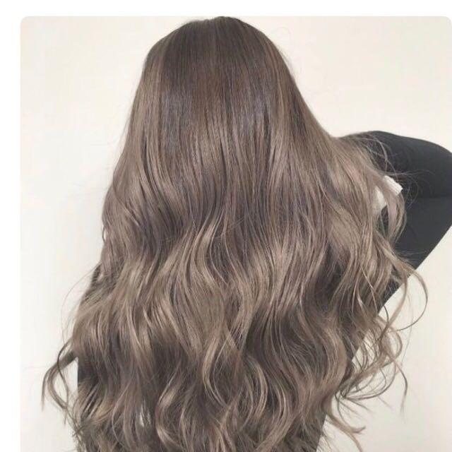 Kool Permanent Hairdye Light Ash Brown Health Beauty Hair Care