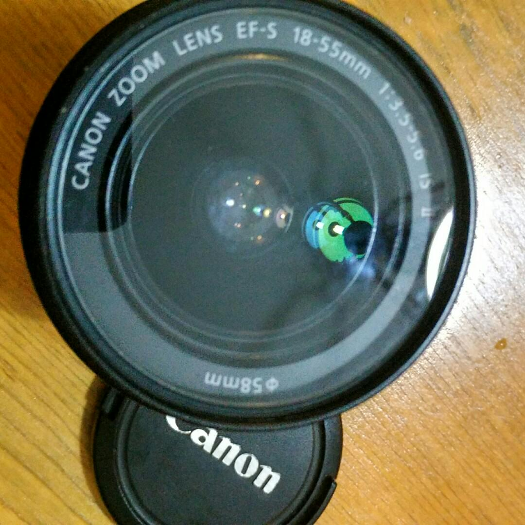 Lensa Kit Canon 18-55mm ( + filter UV)
