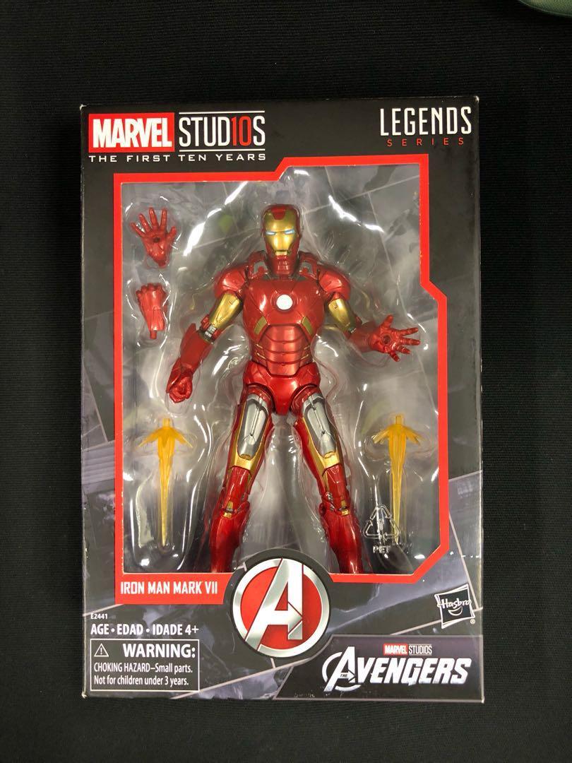 """Marvel Legends 6/"""" MCU Studios First Ten Years Iron Man Mark VII 7 Avengers Mint"""