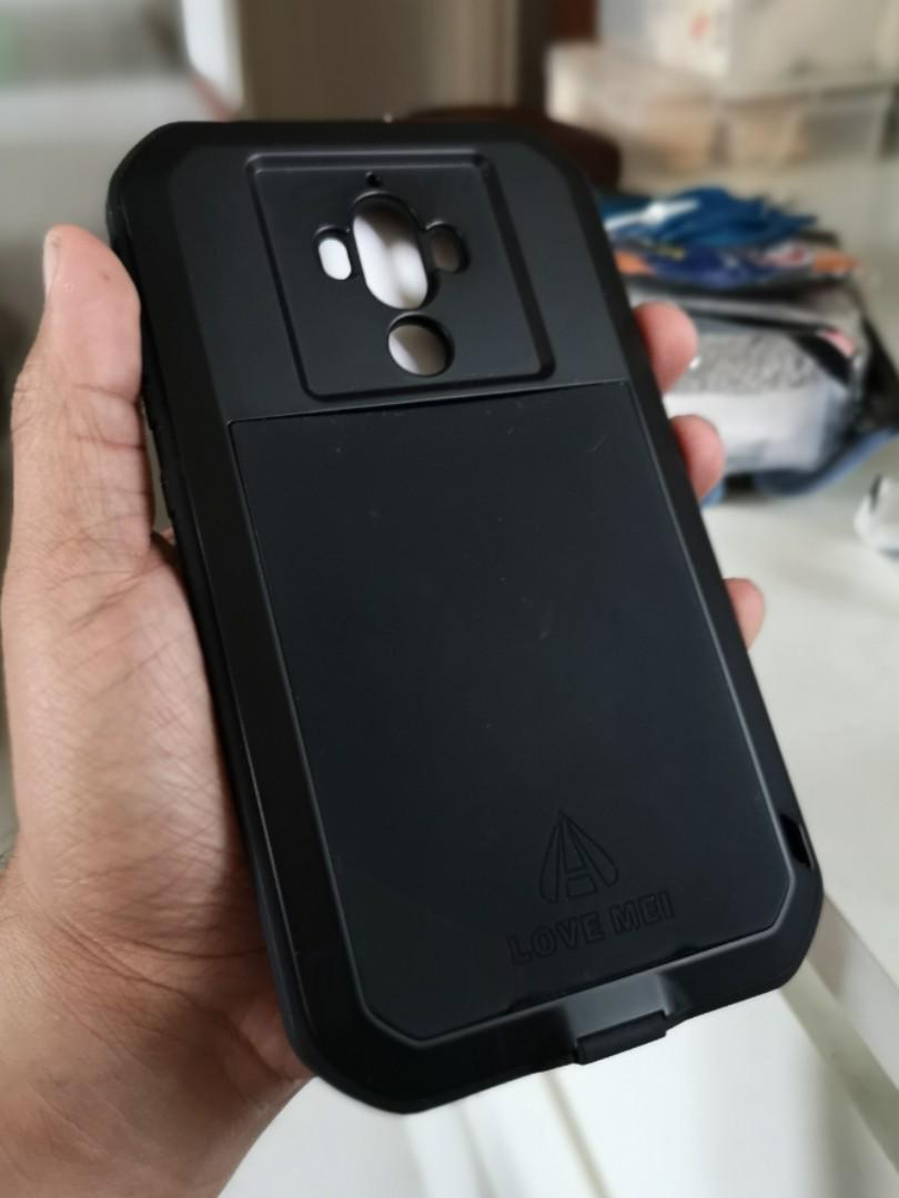 Mate 9 - LOVE MEI tough case - Black