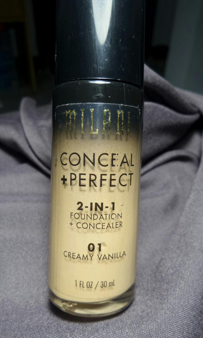Milani Conceal Perfect 2in1 Foundation+Concealer