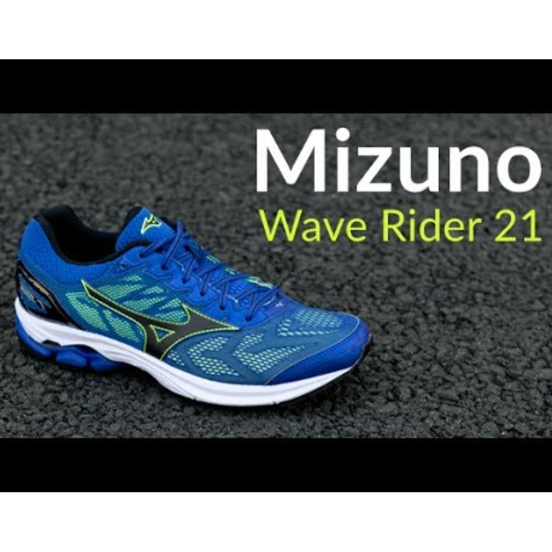 1b104e6f1728 Mizuno Wave Rider 21 Mens Running Shoes, Luxury, Shoes on Carousell