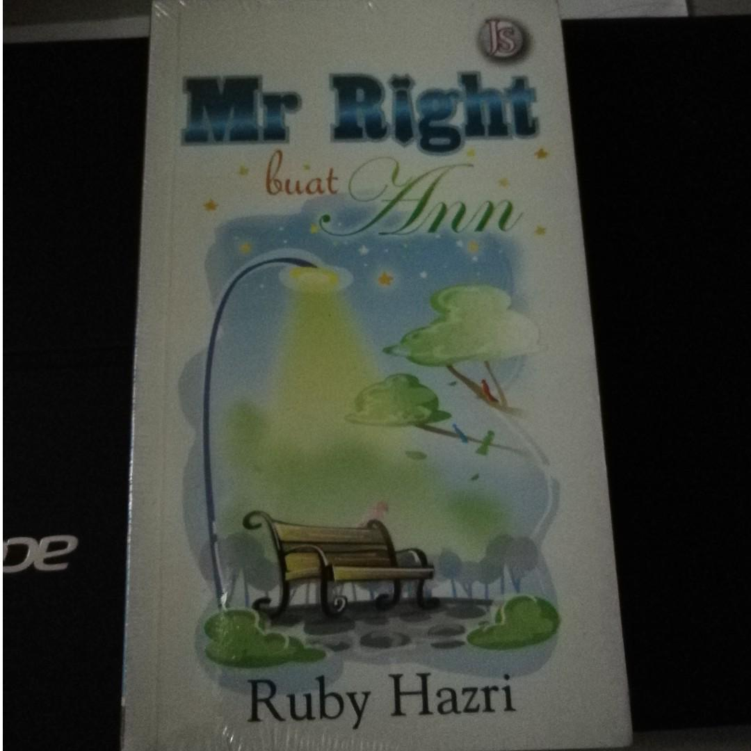 Mr. Right buat Ann - Ruby Hazri