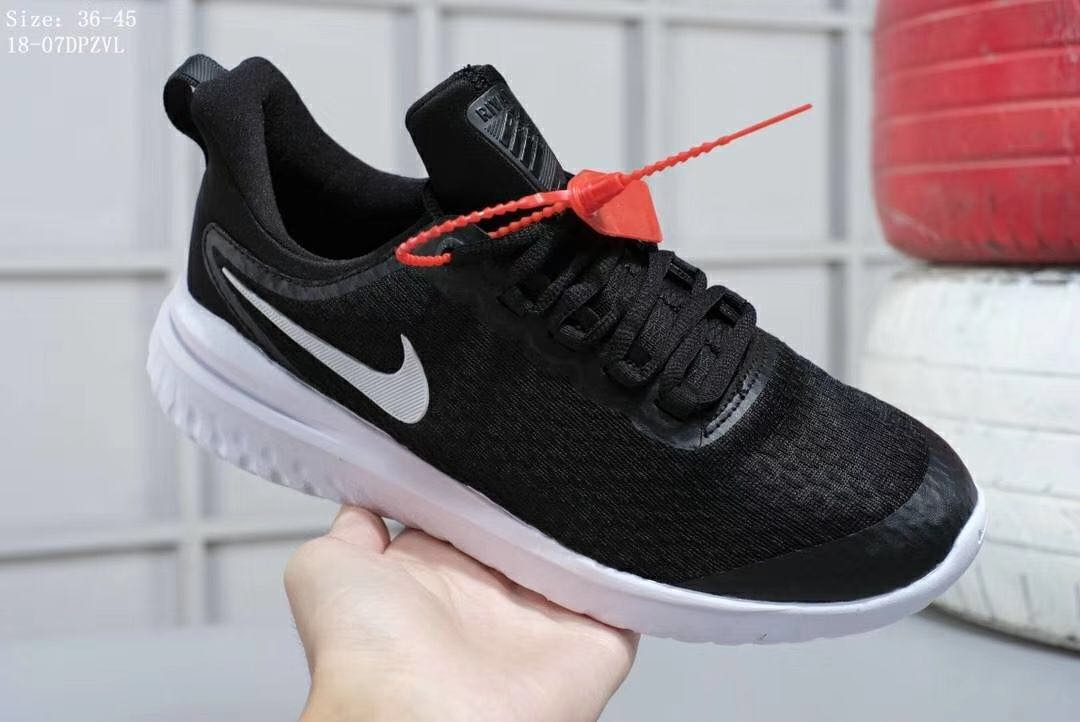 396f031b14c6 Nike Epic React Flyknit (black white)