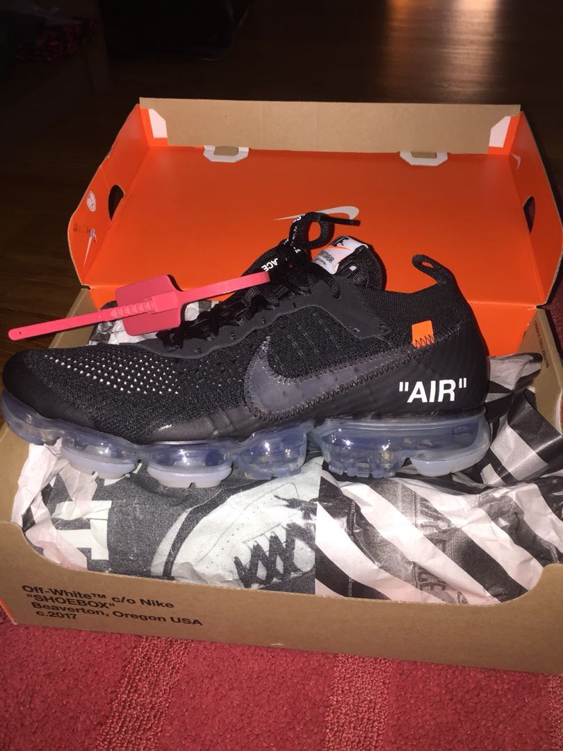 e08facde OFF WHITE VAPORMAX US 9.5, Men's Fashion, Footwear, Sneakers on ...