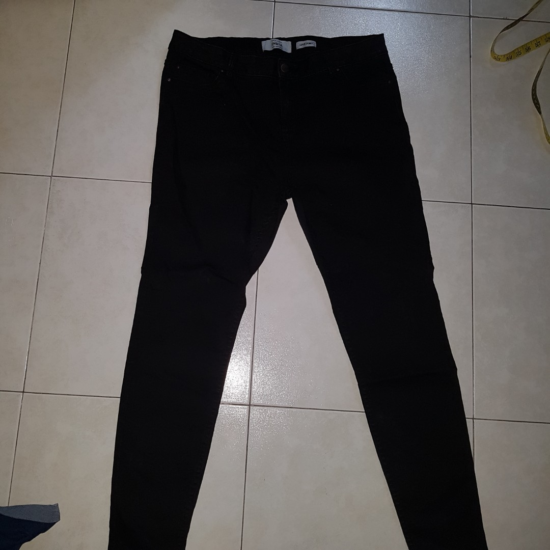 dd1abb41fe1d4 PLUS SIZE NEW LOOK Super Skinny Black Jeans