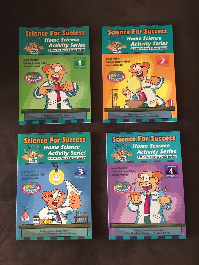 Science For Success Activity Series, Books & Stationery