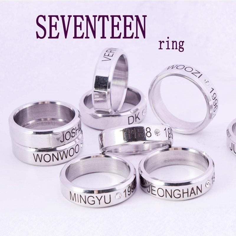 SEVENTEEN and Monsta X ring