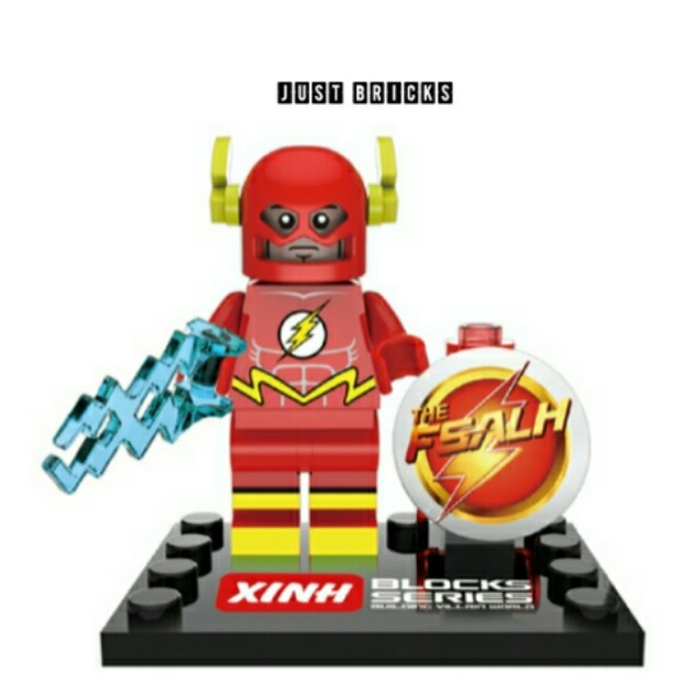 Super Heroes The Flash Minifigures Set Xinh Xh074 Toys Games