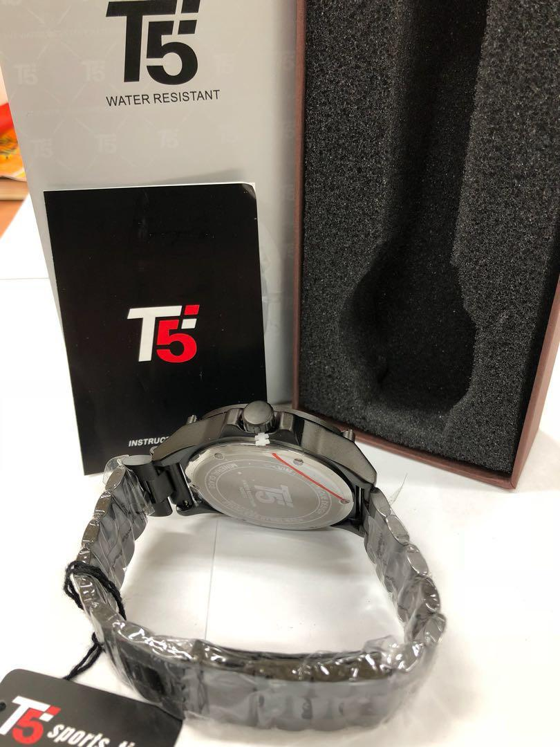 T5 sports time 賽車款時尚男錶