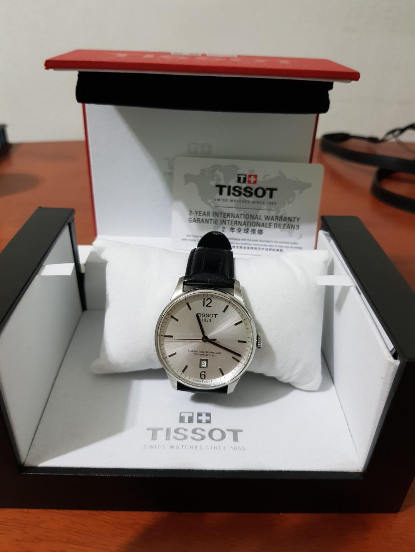 e427b004349 Tissot Chemin des Tourelles, Men's Fashion, Watches on Carousell