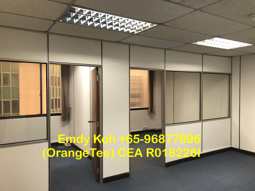 Tong Eng Building Office for Rent