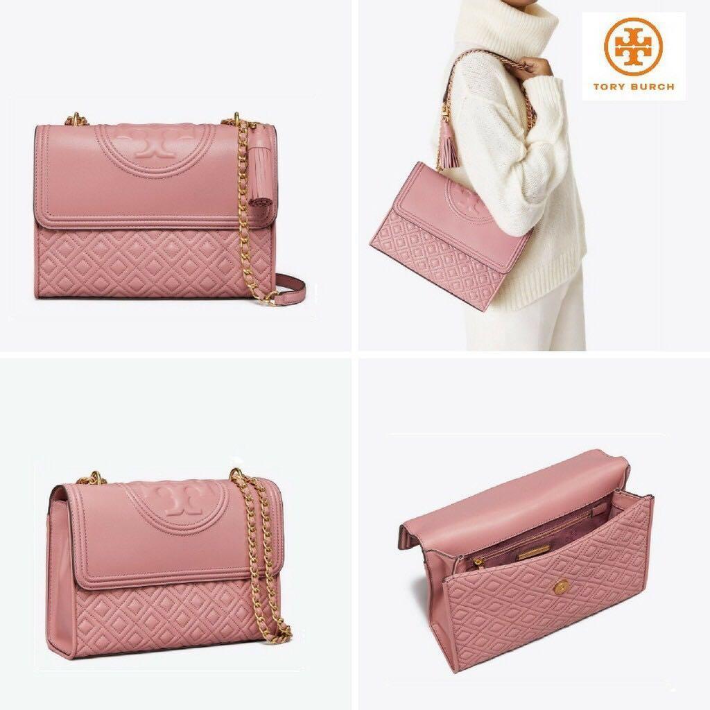 e2708f27c75a Tory Burch Fleming Pink Magnolia (Size 27)