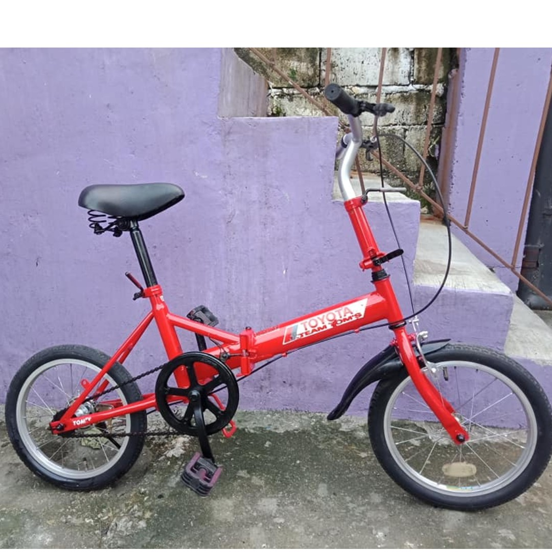 TOYOTA FOLDING BIKE (FREE DELIVERY AND NEGOTIABLE!)