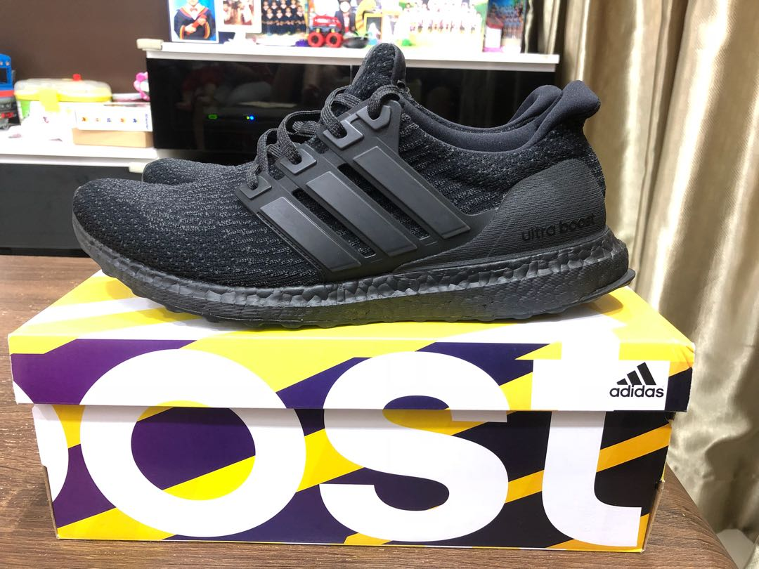 761994b1142b Ultraboost triple black 3.0