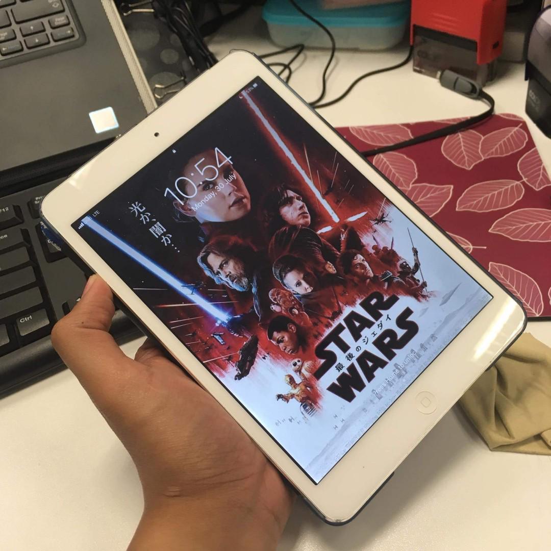 USED iPad Mini 2 WiFi + Cellular 32GB