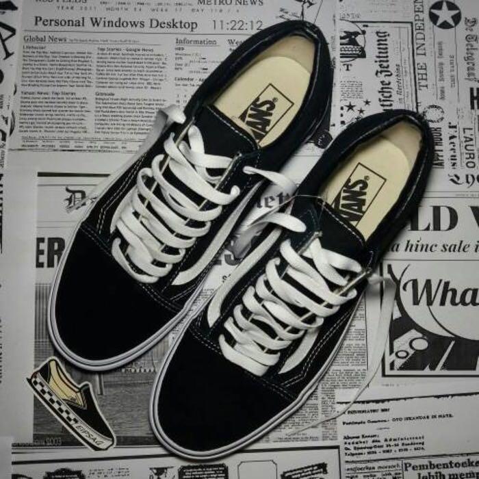 28b618e31835ef Vans oldskool Black White BW Original BNIB BNWT