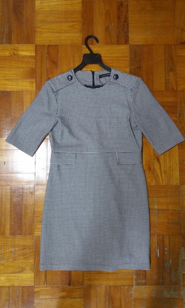 c96f700447 Zara dress, Women's Fashion, Clothes, Dresses & Skirts on Carousell