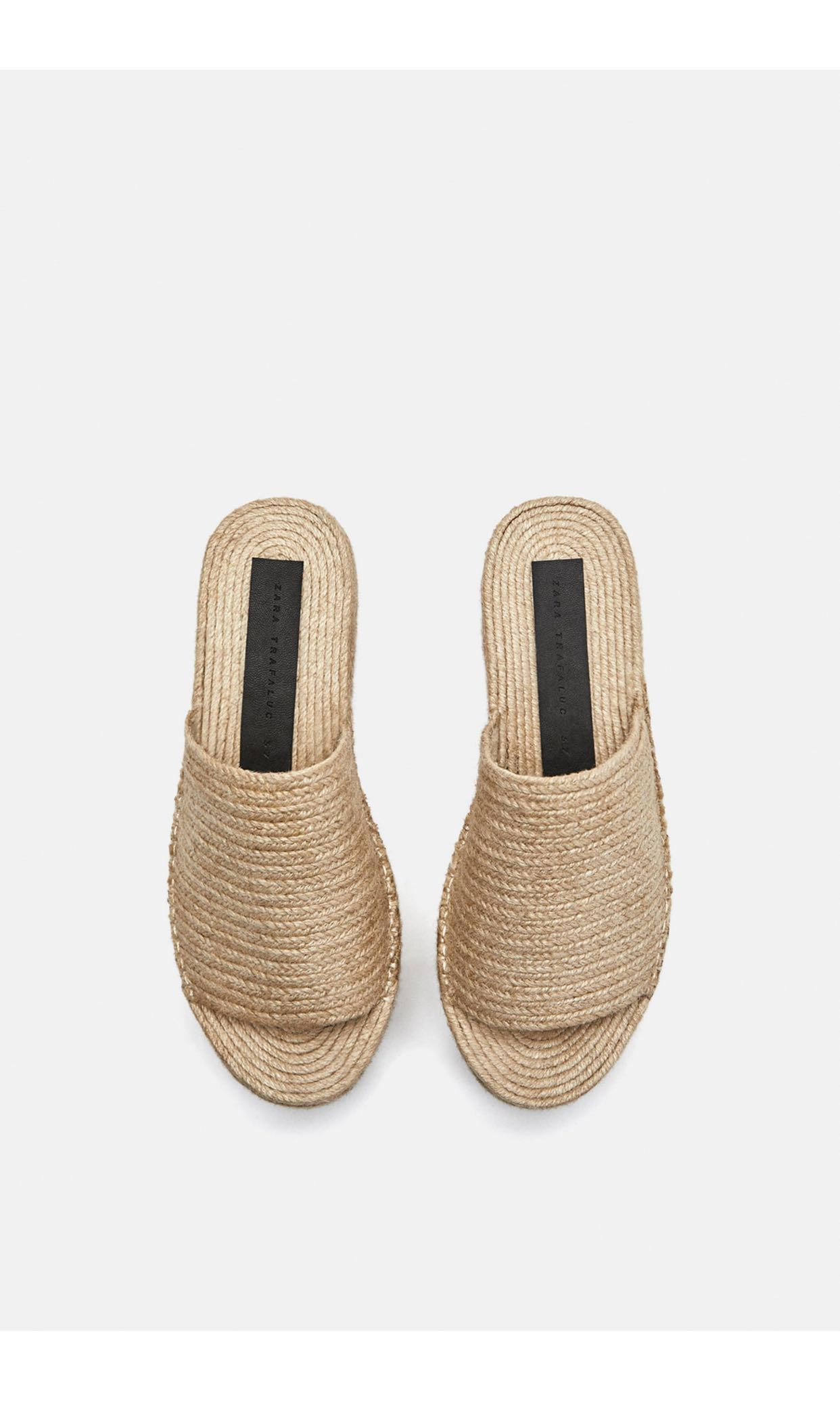 a6af6d342e Zara jute platform sandals, Women's Fashion, Shoes, Others on Carousell