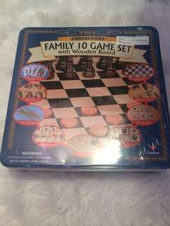 10 games in one - all wood