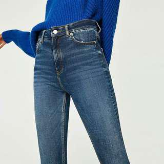 REPRICED! Zara High waist slim fit jeans