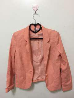 H&M Orange Blazer